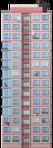 Pink Block of Flats