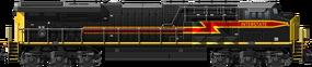GE ES44AC