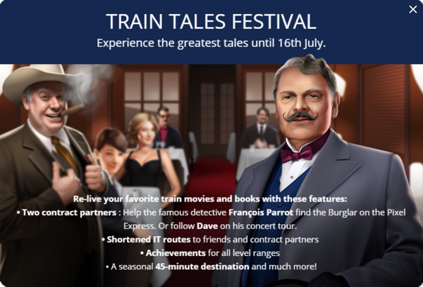 Announcement Train Tales Festival 2018