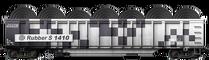 Black & White Rubber S