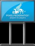 Pixel Sign (Big)