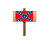 Confederate Sign (Wood)
