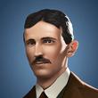 Portrait small Inventor Tesla (2020)