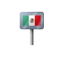 Sign - Mexico (Metal)
