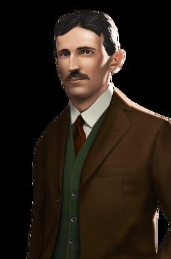 Portrait full Inventor Tesla (2020)