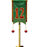 Advent Flag 12 (Gift)