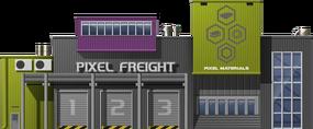 Pixel Freight Depot