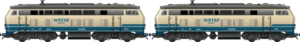 Old DB Class 218 Double