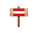 Sign - AUT (Wood)
