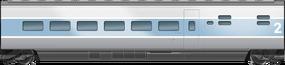 TGV 140 2nd Class