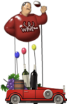 Wine bar float