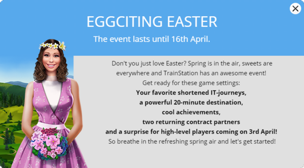 Announcement Easter 2018