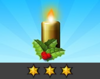 Achievement Gold Candle III