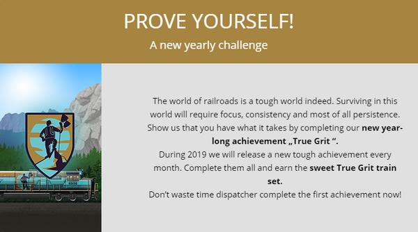 Announcement True Grit