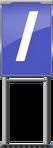 Character Sign Forward Slash (Blue)