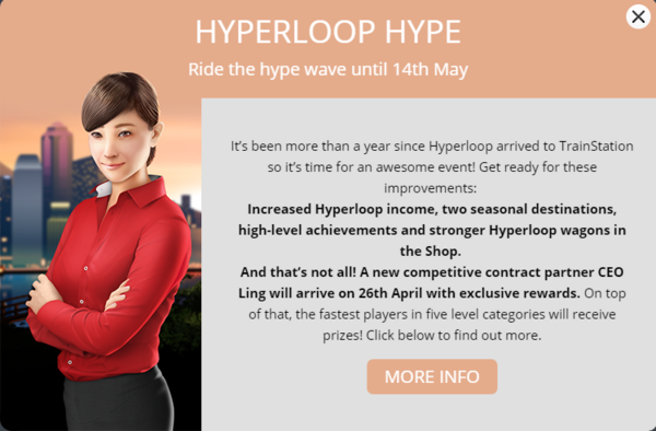 Announcement Hyperloop Hype 2018