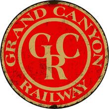 Grand-Canyon-Railroad-Round-Train-metal-tin