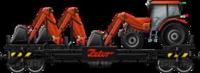 Loader Flatcar