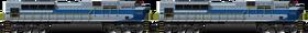 SD70 Wabash Double