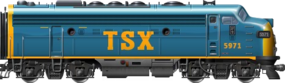 TSX EMD F9