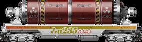 Leaves U-235 S+