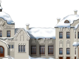 Wintry Station