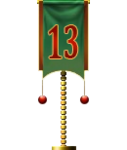 Advent Flag 13 (Gift)