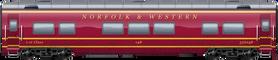 N&W 1st class
