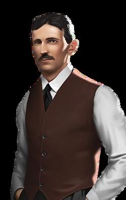 Portrait full Tesla (2019)