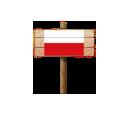 Sign - POL (Wood)