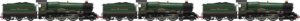 Old GWR King Triple