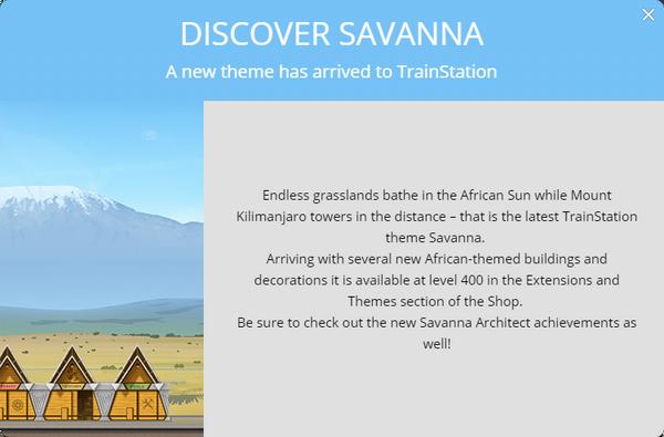 Announcement Savanna 2018