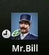 Mr. Bill Clock