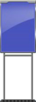 Character Sign Space (Blue)