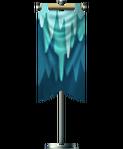 Icicle flag