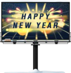 New Year Billboard