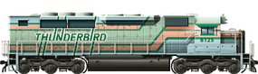 Thunderbird SDP40