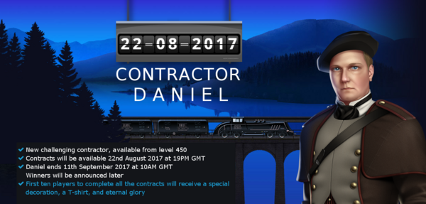 Announcement Daniel