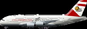 A380 Team Plane