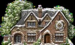 Snowy Clockhouse