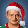 Portrait small Christmas Yaris (2018)