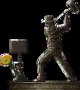 Railway Worker Statue