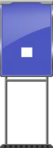 Character Sign Period (Blue)