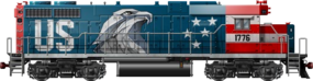 GP38AC USA