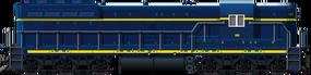 EMD SD7 (Blue)