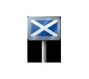 Sign - Scotland (Metal)
