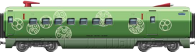 Shinkansen 1st class