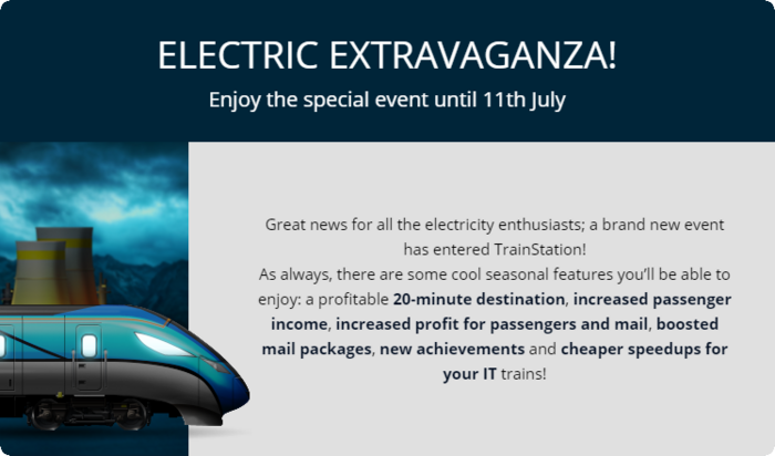 Anouncement Electric Extravaganza