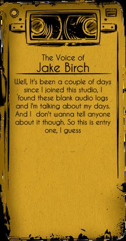 Jake-Birch-Audio-Log