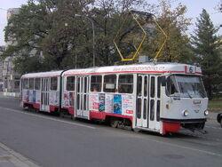 Tram K2YU Brno
